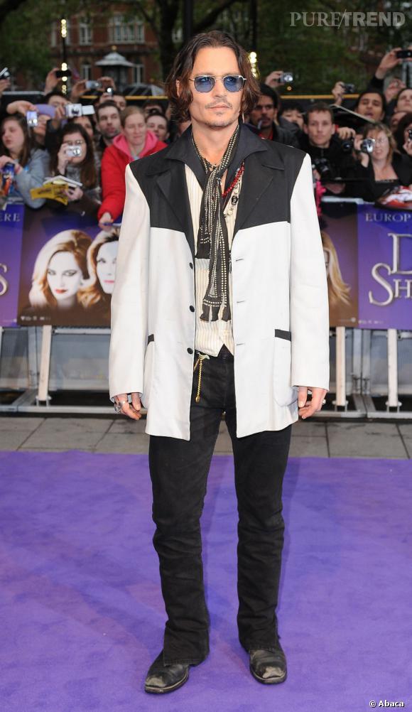 Johnny Depp n'a jamais eu d'Oscar du cinéma.