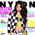 Selena Gomez en Louis Vuitton en couverture du magazine Nylon.