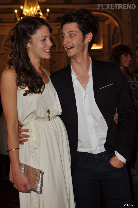 Pierre Niney et sa petite-amie au Festival du film de Cabourg en 2012.
