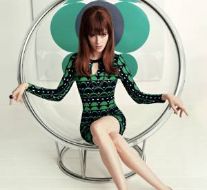 Coco Rocha, trop maigre pour la collection Mad Men de Banana Republic ?