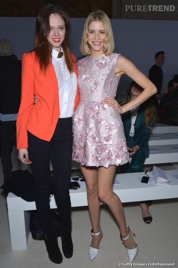 Coco Rocha et Elena Perminova chez Giambattista Valli.