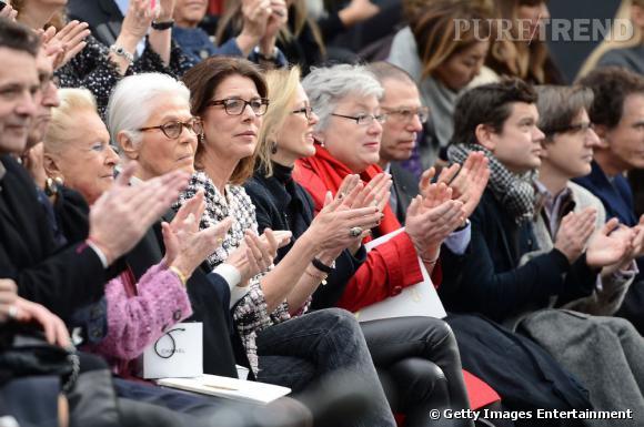 Caroline de Monaco en front row chez Chanel.