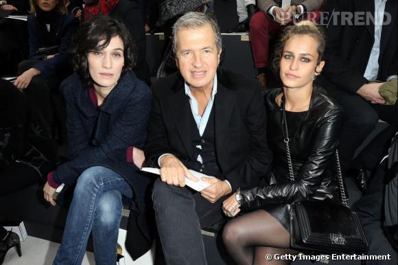 Clotilde Hesme, Mario Testino et Alice Dellal chez Chanel.