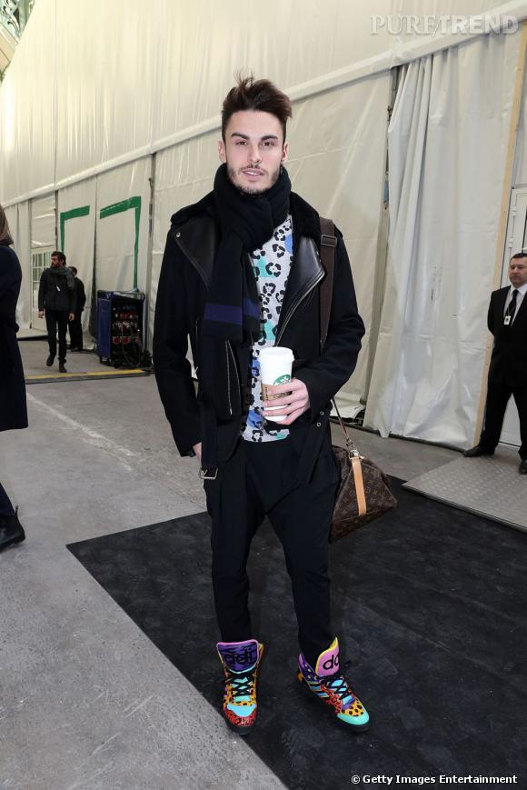 Baptiste Giabiconi chez Chanel.