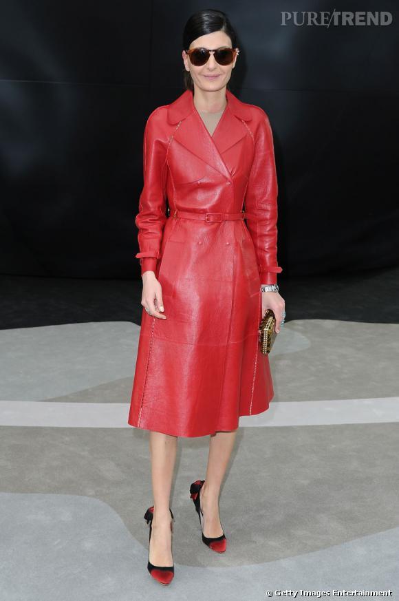 Giovanna Battaglia chez Chanel.