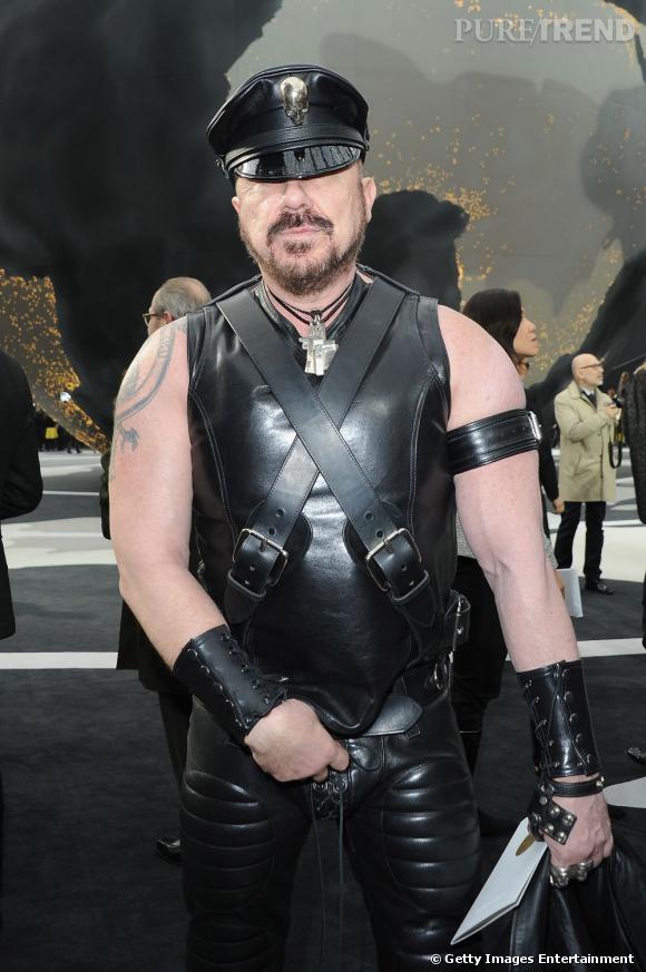 Peter Marino au défilé Chanel.