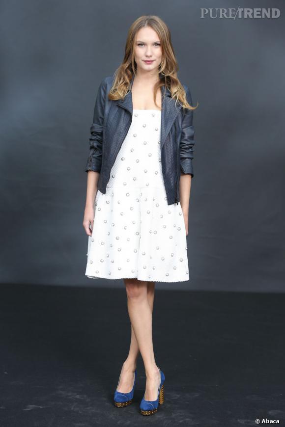 Ana Girardot chez Chanel.