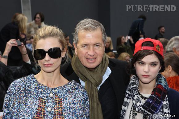 Laura Bailey, Mario Testino et Soko chez Chanel.
