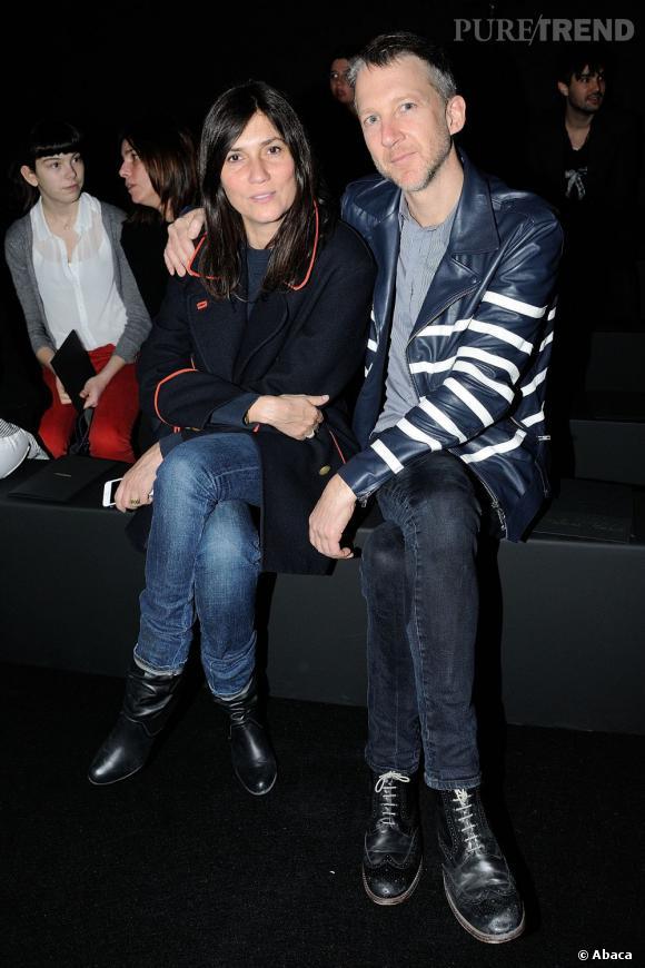 Emmanuelle Alt et Jefferson Hack chez Zadig & Voltaire.