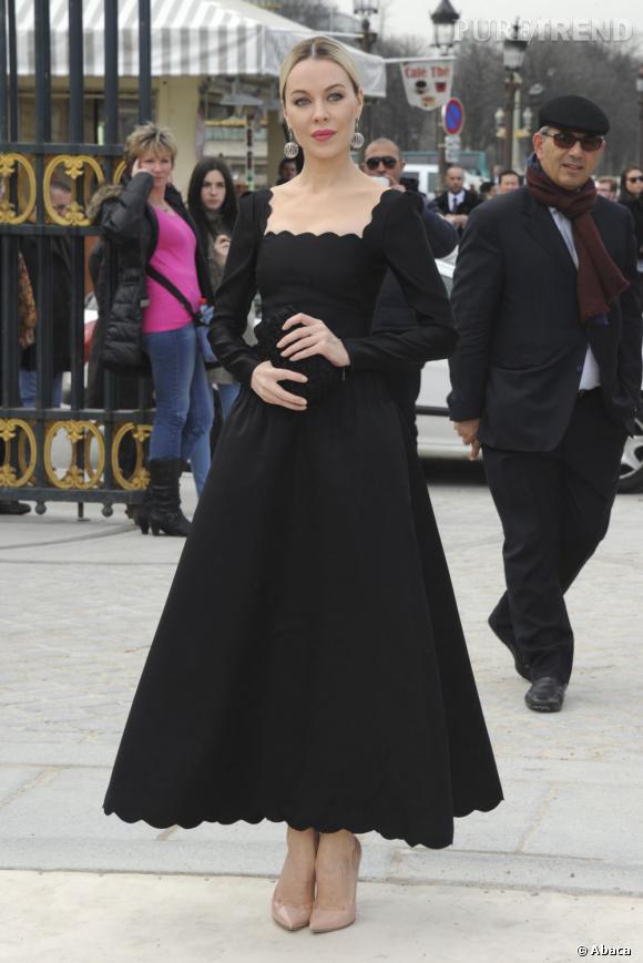 Ulyana Sergeenko chez Valentino.