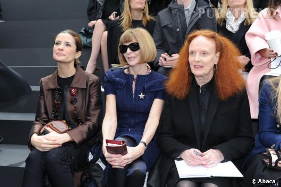 Anna Wintour et Grace Coddington chez Chanel.