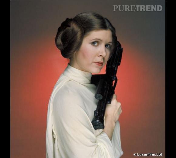 Carrie Fisher reprend son rôle de Princesse Leia dans Star Wars 7.