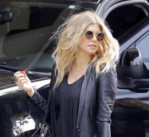 Fergie enceinte, un look safari rock rate... Le flop mode