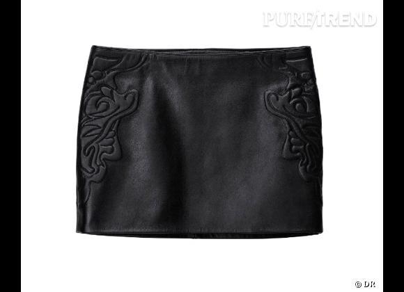 H&M collection Printemps 2013 : les coups de coeur    Jupe en cuir, 99 €
