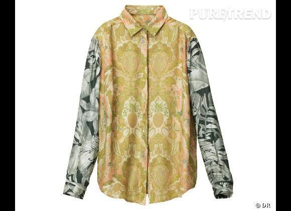 H&M collection Printemps 2013 : les coups de coeur    Chemise en soie imprimé, 59,95 €