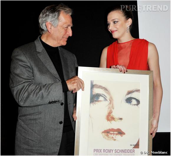 Céline Sallette, un nouvel espoir féminin du cinéma français.