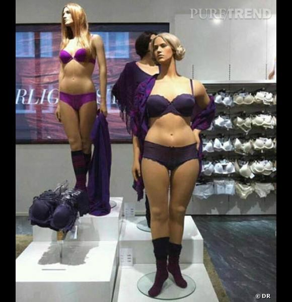 Le buzz du jour : H&M et ses mannequins aux réelles mensurations