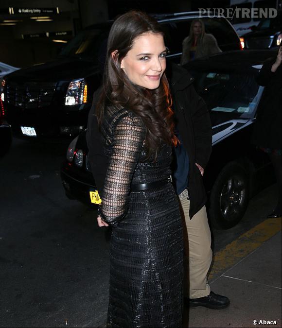 Katie Holmes à la soirée New York Observer.