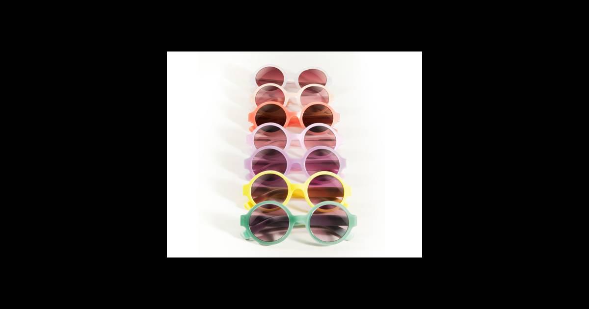 le must have d 39 aur lia lunettes de soleil rondes alain afflelou 79. Black Bedroom Furniture Sets. Home Design Ideas