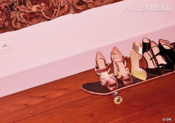 Le must have de Jennifer Chaussures sur skate, Eugene Riconneaus