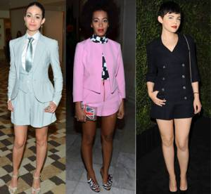 Emmy Rossum, Solange Knowles, Ginnifer Goodwin : elles se taillent un short