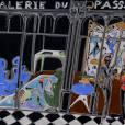 """"""" Vincent  Darré  de passage """" à la Galerie du Passage, du 29 Mars au 20 Avril  , Passage  Véro   Dodat  Paris  Ier ."""