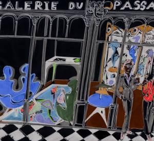 Vincent Darré de passage chez Pierre Passebon
