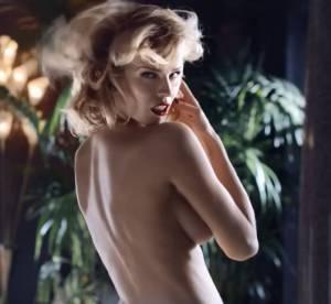Eva Herzigova se met entierement nue pour Brian Atwood