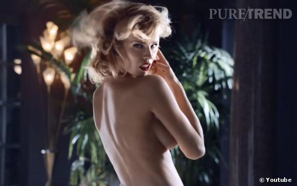Eva Herzigova nue dans la vidéo de la campagne Printemps 2013 de Brian Atwood.