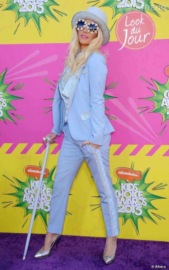 Kesha lors des Kids' Choice Awards 2013 à Los Angeles.