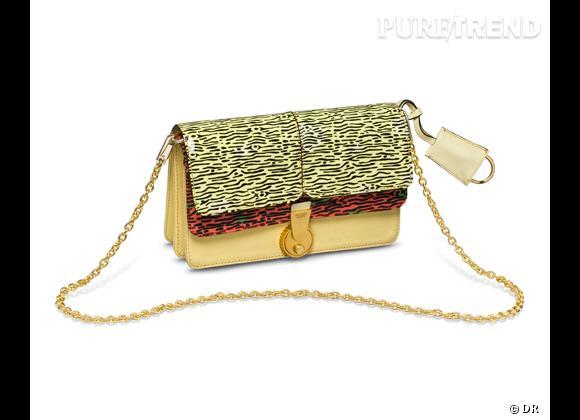 Les it-bags du Printemps-Eté 2013      Pochette Le Dix-Huit, Kenzo, 395 €