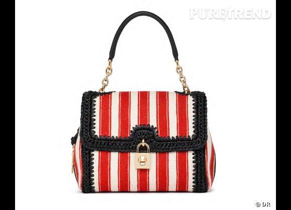 Les it-bags du Printemps-Eté 2013      Sac Dolce & Gabbana, prix sur demande