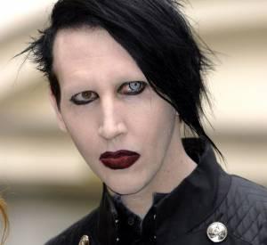Marilyn Manson, nouvelle égérie Saint Laurent.