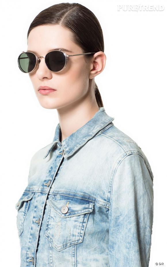 Sélection e-shopping : je veux une veste en jean Veste en jean Zara, 49,95 € A shopper sur Zara.com