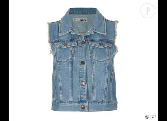 nouveau style 3158d 175a2 Sélection e-shopping : je veux une veste en jean Veste en ...