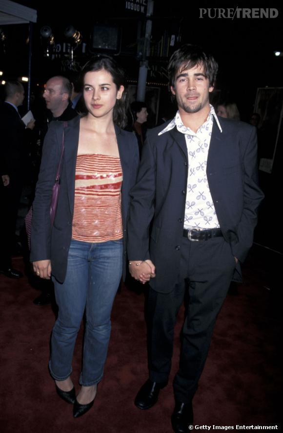"""Le flop première apparition :  Chemise imprimée et allure """"chubby"""", Colin Farrell est loin de son image de beau gosse."""