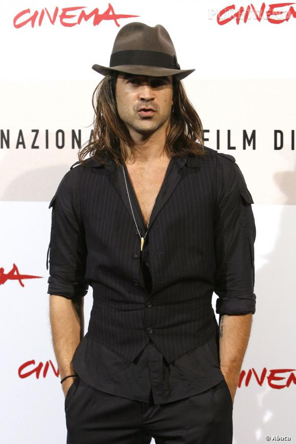 Le flop chapeau :  Est-ce Colin Farrell ou un chanteur espagnol ?
