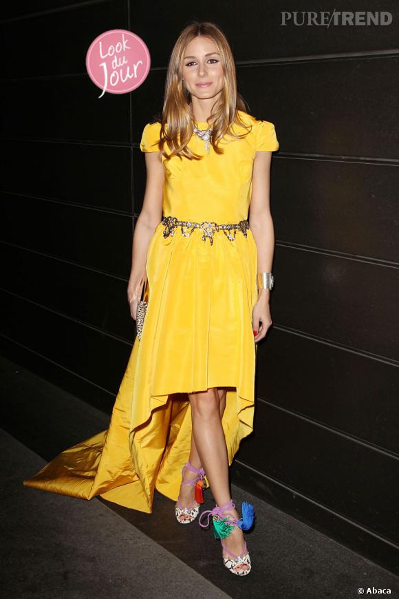 Olivia Palermo au gala A Fool's Fete organisé par Valentino pour l'association New Yorkers For Children à New York le 9 avril 2013.