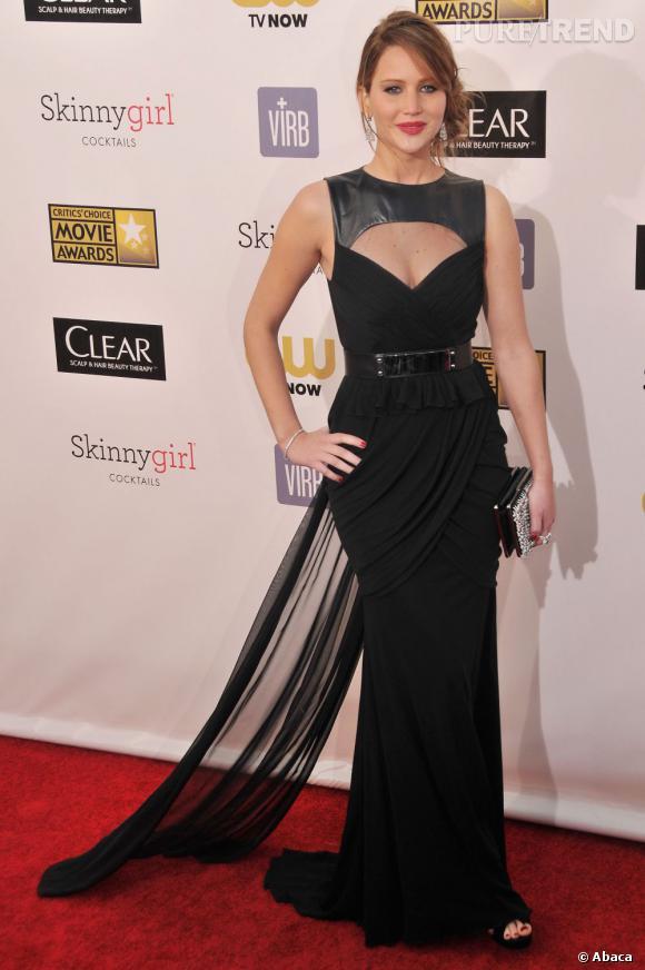 Jennifer Lawrence arrive à la troisième place des stars les plus fuckable avec 27%.
