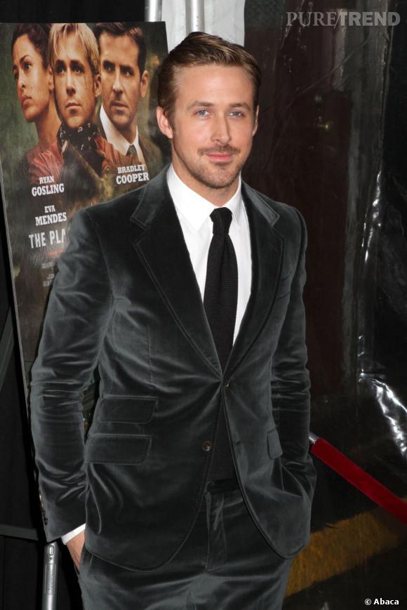 Ryan Gosling, sans surprise remporte la première place des hommes les plus désirables avec plus de 50%.