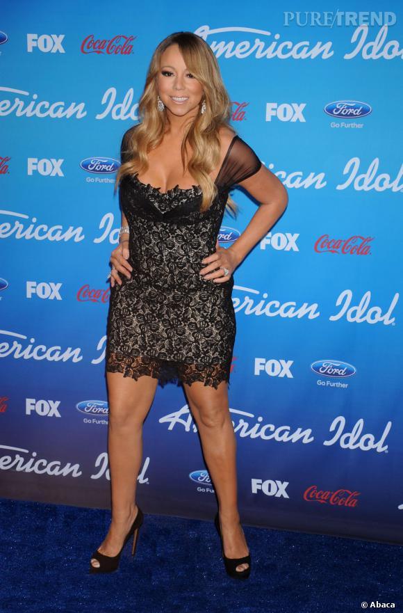 Mariah Carey, la diva par excellence.