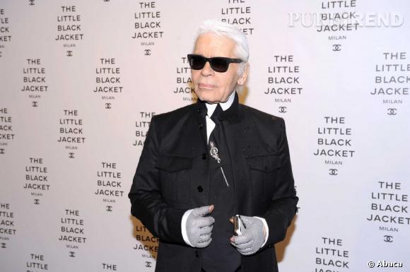 Karl Lagerfeld a enfin dit son âge véritable. L'icône de la mode a donc... 77 ans !