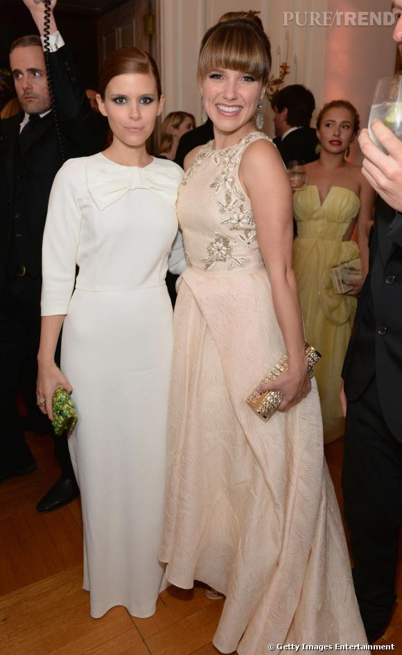 Kate Mara et Sophia Bush au Dîner des Correspondants à la Maison Blanche à Washington.