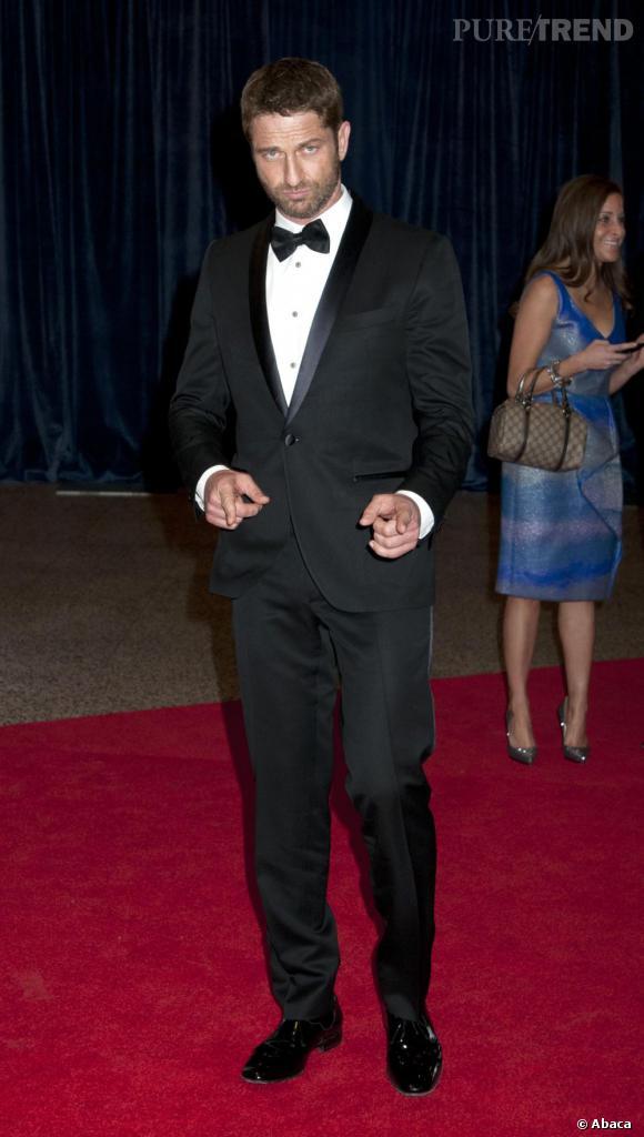 Gerard Butler au Dîner des Correspondants à la Maison Blanche à Washington.