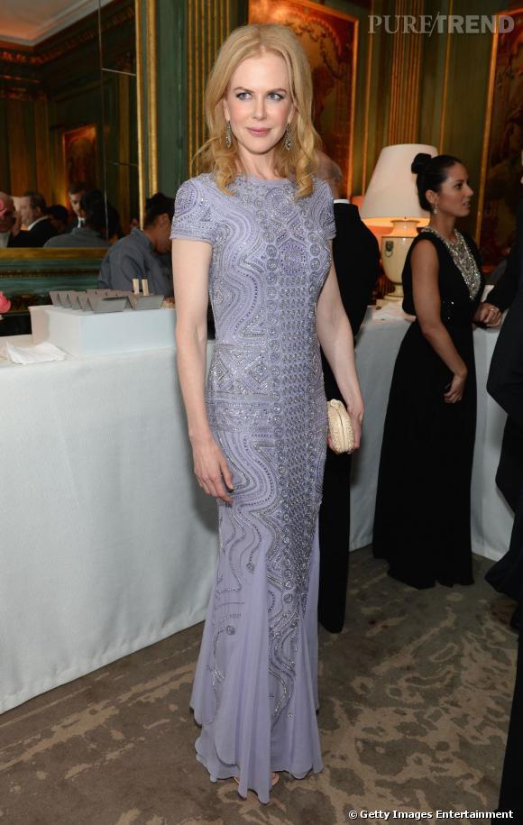 Nicole Kidman en Emilio Pucci au Dîner des Correspondants à la Maison Blanche à Washington.