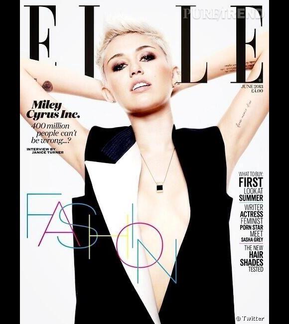Dans le numéro de juin du magazine ELLE UK, Miley Cyrus parle de son fiancé, de sa vie privée et de sa volonté de garder désormais des choses pour elle.