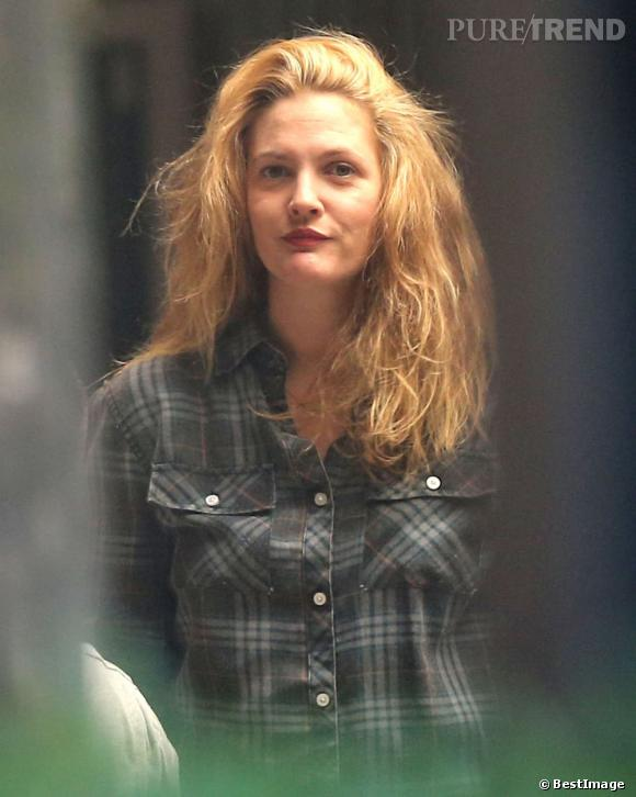 Drew Barrymore a gardé sa masse, mais l'a considérablement éclaircie.
