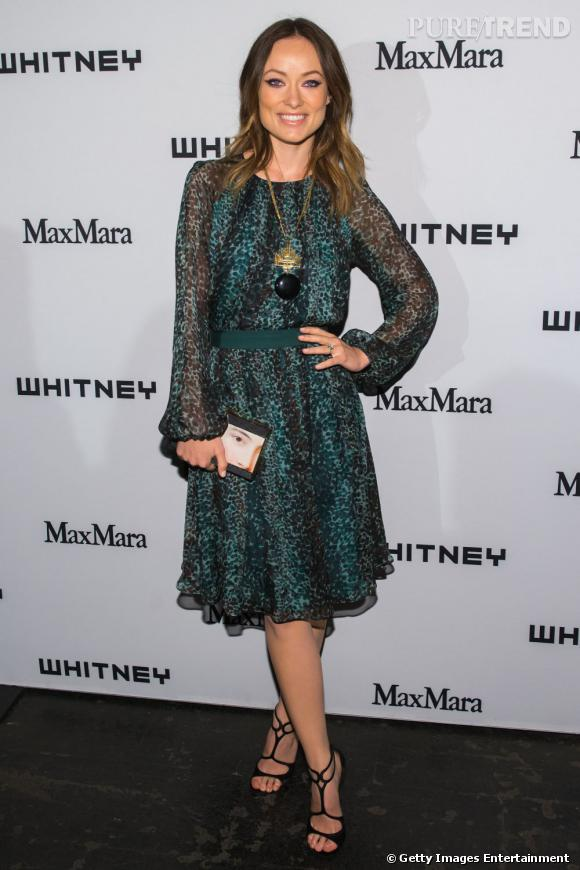 Olivia Wilde au Withney Museum Annual Art Party à New York, le 1er mai 2013.
