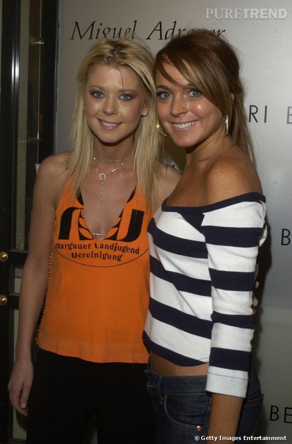Lindsay Lohan et Tara Reid avaient posé ensemble en 2004. Hypocrisie quand tu nous tiens !
