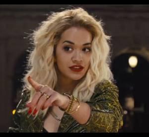 Rita Ora : soutien-gorge cuir et perfecto army au cinema dans 'Fast and Furious 6'